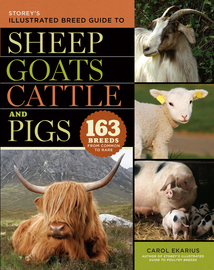 Storey's Illustrated Breed Guide to Sheep, Goats, Cattle and Pigs - cover
