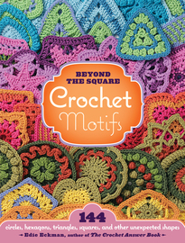 Beyond the Square Crochet Motifs - cover