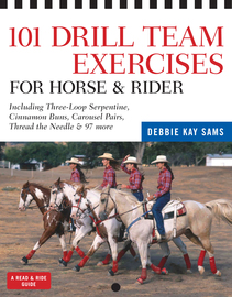 101 Drill Team Exercises for Horse & Rider - cover