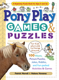Pony Play Games & Puzzles - cover