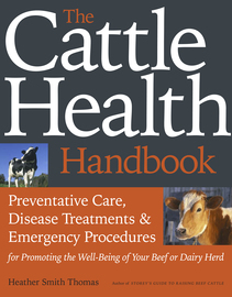 The Cattle Health Handbook - cover