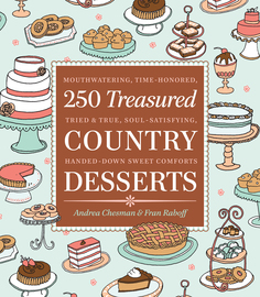 250 Treasured Country Desserts - cover
