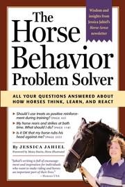 The Horse Behavior Problem Solver - cover
