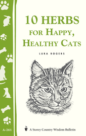 10 Herbs for Happy, Healthy Cats - cover