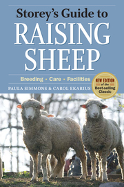 Storey's Guide to Raising Sheep, 4th Edition - cover
