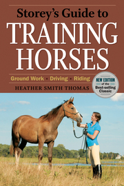 Storey's Guide to Training Horses, 2nd Edition - cover