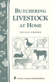 Butchering Livestock at Home - cover