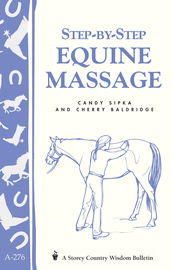 Step-by-Step Equine Massage - cover