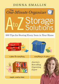 The One-Minute Organizer A to Z Storage Solutions - cover