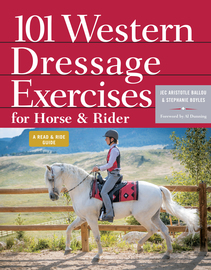 101 Western Dressage Exercises for Horse & Rider - cover