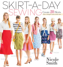 Skirt-a-Day Sewing - cover