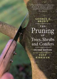 The Pruning of Trees, Shrubs and Conifers - cover