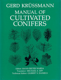 Manual of Cultivated Conifers - cover