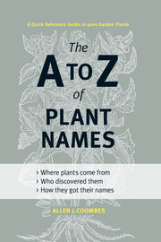 The A to Z of Plant Names - cover