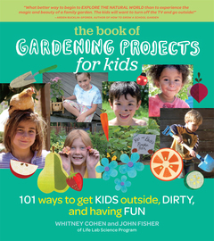 The Book of Gardening Projects for Kids - cover