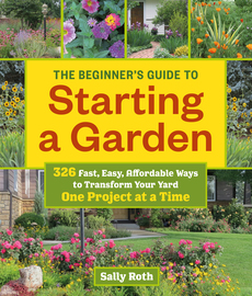 The Beginner's Guide to Starting a Garden - cover