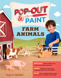 Pop-Out & Paint Farm Animals - cover