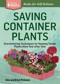 Saving Container Plants - cover