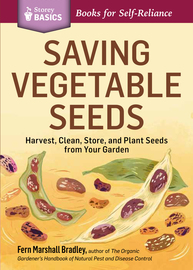 Saving Vegetable Seeds - cover