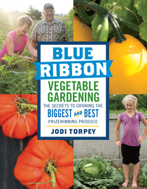 Blue Ribbon Vegetable Gardening - cover