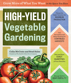 High-Yield Vegetable Gardening - cover