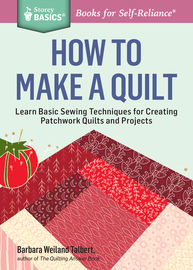 How to Make a Quilt - cover