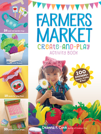Farmers Market Create-and-Play Activity Book - cover