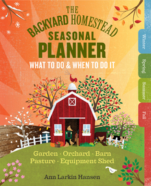 The Backyard Homestead Seasonal Planner - cover