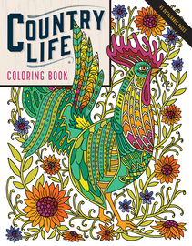 Country Life Coloring Book - cover
