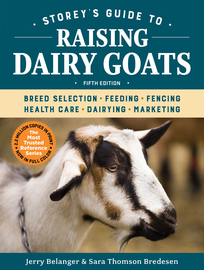 Storey's Guide to Raising Dairy Goats, 5th Edition - cover