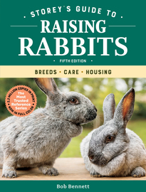 Storey's Guide to Raising Rabbits, 5th Edition - cover