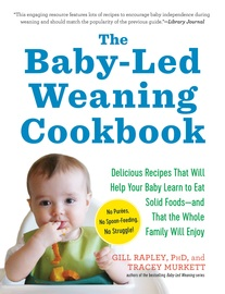 The Baby-Led Weaning Cookbook - cover