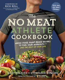 The No Meat Athlete Cookbook - cover