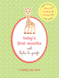 Baby's First Months with Sophie la girafe® - cover
