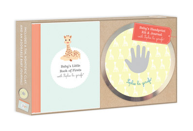 Baby's Handprint Kit and Journal with Sophie la girafe® - cover