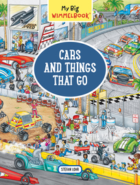 My Big Wimmelbook—Cars and Things That Go - cover