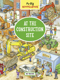 My Big Wimmelbook—At the Construction Site - cover