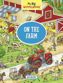 My Big Wimmelbook—On the Farm - cover