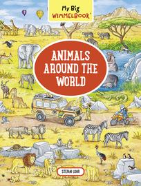 My Big Wimmelbook—Animals Around the World - cover