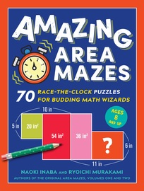 Amazing Area Mazes - cover