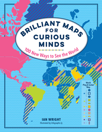 Brilliant Maps for Curious Minds - cover