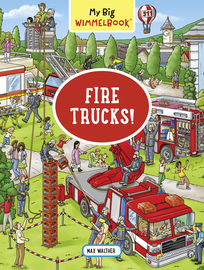 My Big Wimmelbook—Fire Trucks! - cover