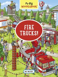 My Big Wimmelbook—Fire Trucks! - cover