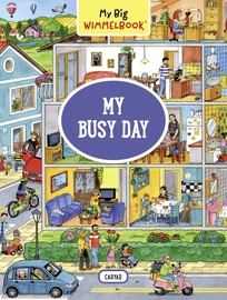My Big Wimmelbook—My Busy Day - cover