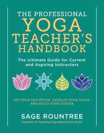 The Professional Yoga Teacher's Handbook - cover