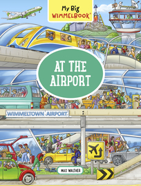 My Big Wimmelbook—At the Airport - cover