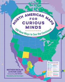 North American Maps for Curious Minds - cover