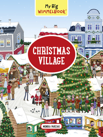 My Big Wimmelbook—Christmas Village - cover