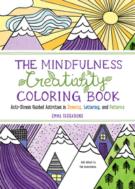 The Mindfulness Creativity Coloring Book - cover