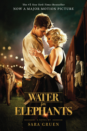 Water for Elephants (movie tie-in) - cover